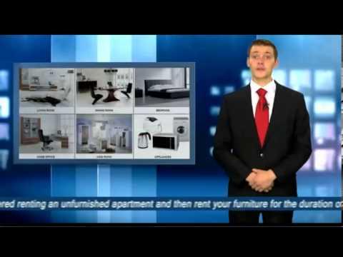 Renting furniture in Munich / Furniture rental // Furniture Leasing Corporation
