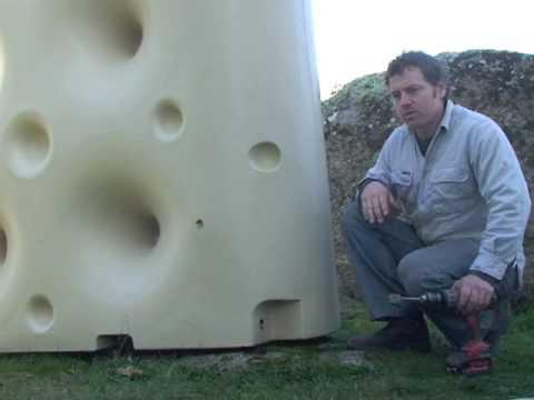 How to install a Waterwall rainwater tank