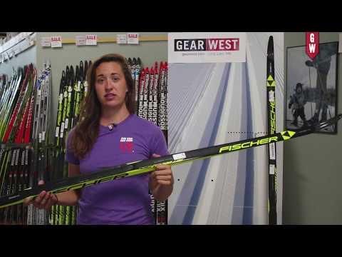 Fischer Carbon Lite Classic Ski with Gear West