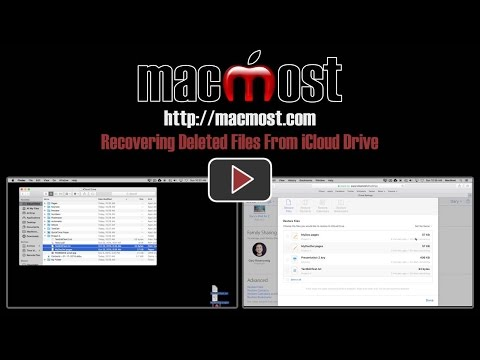 Recovering Deleted Files From iCloud Drive (#1167)