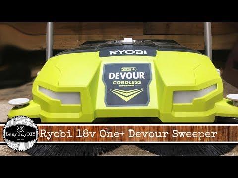 Quick look: Ryobi Devour Floor Sweep