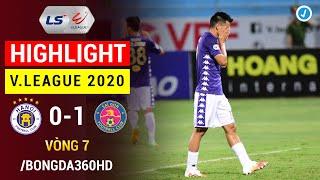 Highlight | Hà Nội vs Sài Gòn | Vòng 7 V.League 2020 | Quang Hải ngồi ngoài, HN nhận gáo nước lạnh