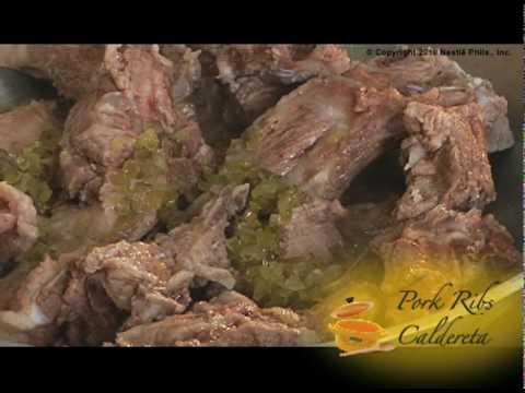 Pork Ribs Caldereta Recipe - Nestle Club