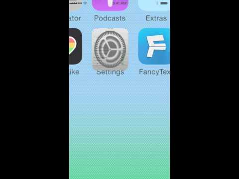 How to Setup 'Fancy Text' keyboard on iOS 8