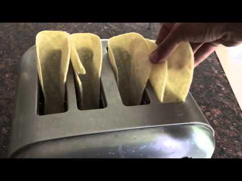 How to toast/make Taco Shells