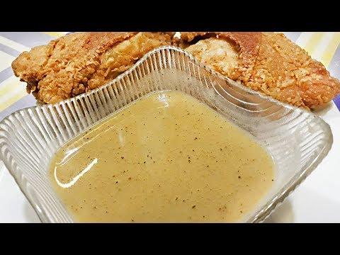 KFC STYLE GRAVY! SUPER EASY!!! (Kuya Fern's Cooking)