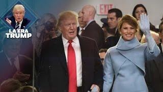 Familia Trump llega a la Casa Blanca