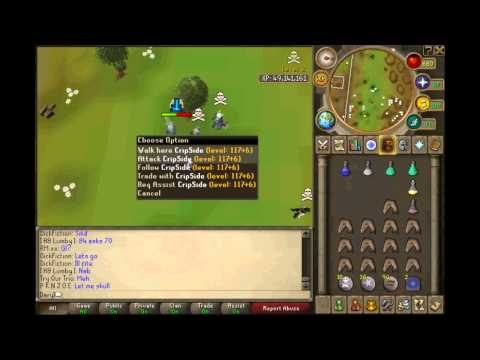 Runescape   DaryI   PK Video #2   New Wilderness   AGS   Whip
