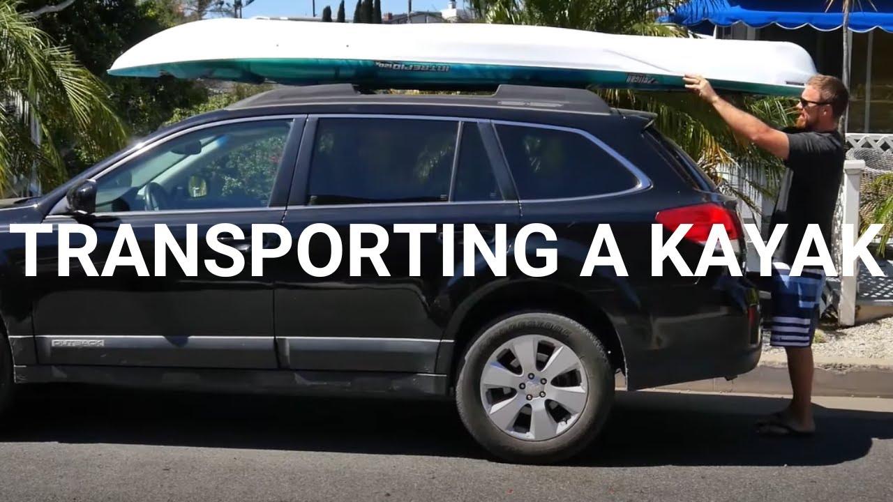 How-to-transport a kayak