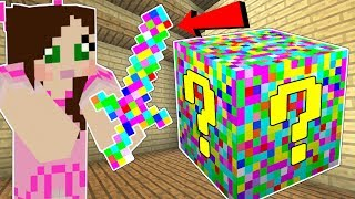 Minecraft: GLITCH LUCKY BLOCK!!! (GLITCHES, ERRORS, & MISSING TEXTURES!) Mod Showcase