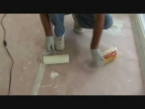 Painting an interior wall:  the