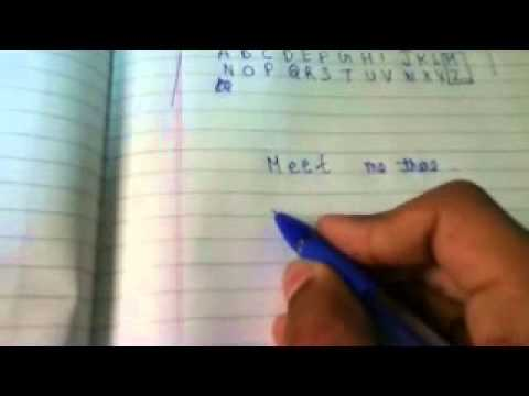 How to write in CODE ( Spy ) language ( Easiest and one of the best method )   English  