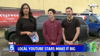 WE WERE ON THE NEWS!!