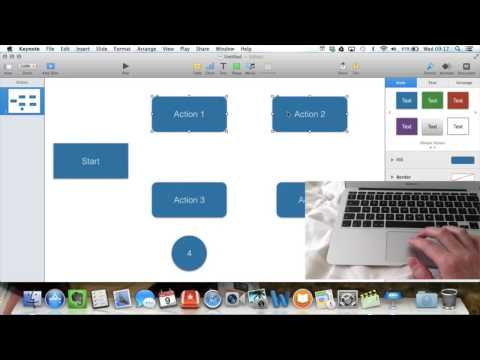 Making a Flowchart with iWork