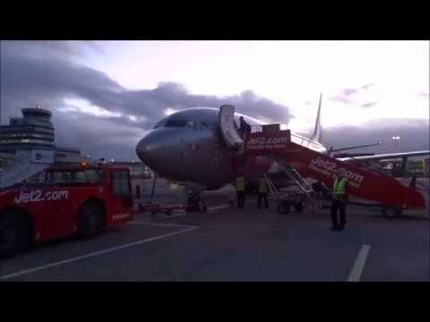 Jet2 Flight To Rome (Italy) From Manchester (UK)
