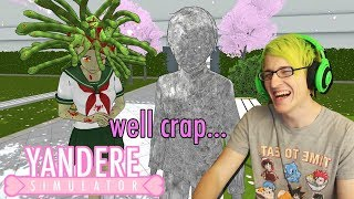 The one time senpai notices me... NEW Medusa Easter Egg | Yandere Simulator