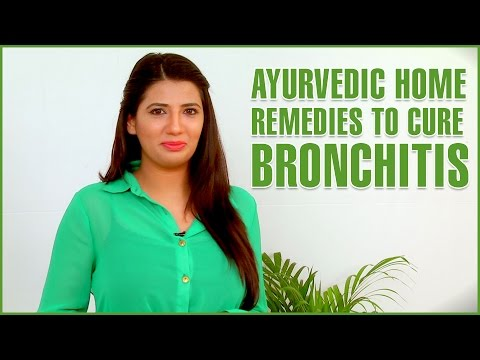 3 Best Home Remedies For CHRONIC BRONCHITIS TREATMENT - Lung Infection