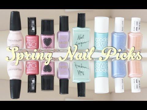 Spring Nail Polish Picks