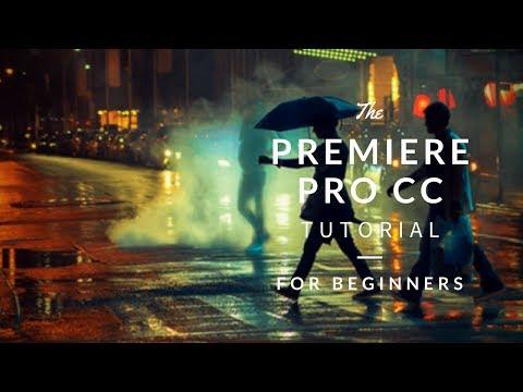 BEGINNER Video Editing Tutorial! | Adobe Premiere Pro CC 2018!