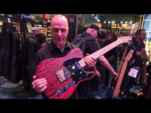 AMS at NAMM 2015 - Fender Sandblasted Ash Guitars