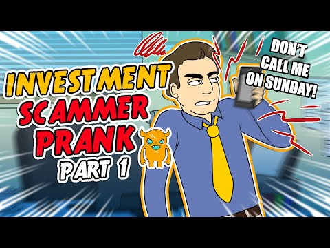 Investment Scammer Prank #1 - Ownage Pranks