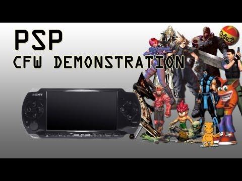 PSP CFW Demonstration - PS1 Games