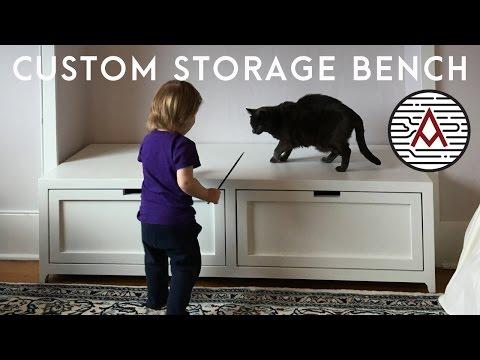 Storage Bench -- Woodworking
