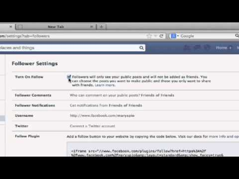 How to View Facebook Followers : Connecting With Facebook