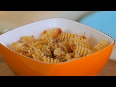 Pasta with homemade bolognese sauce - baby food +10M
