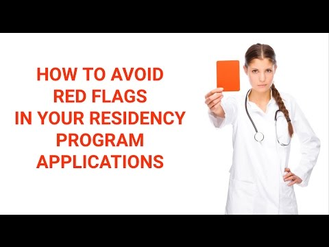 Residency Application Red Flags