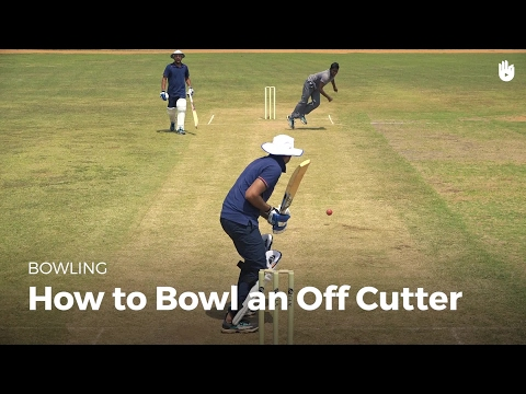 How to Bowl an Off Cutter | Cricket