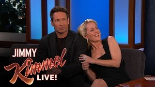 David Duchovny & Gillian Anderson Explain their 90