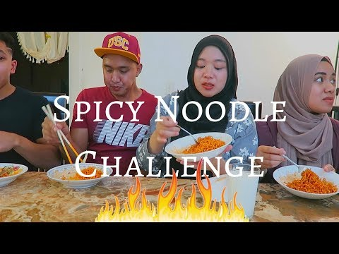 SPICY Noodle Challenge!