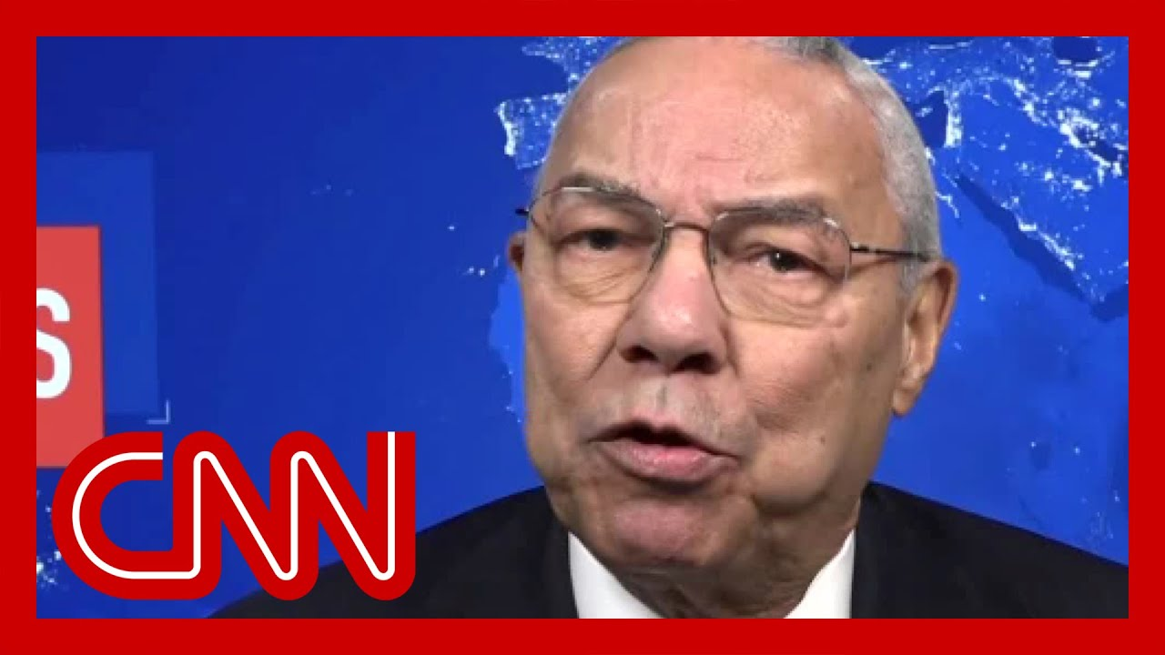 Why Colin Powell says he no longer considers himself a Republican