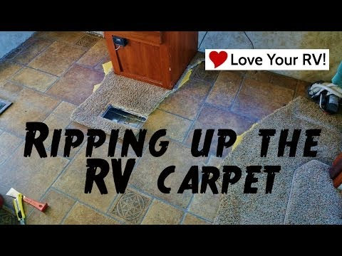 Ripping Up the RV Carpet