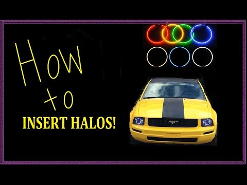 How to install LED halo rings in your headlights