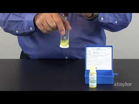 Testing Sodium Chloride (Salt) with an Electrolytic Chlorine Generator System