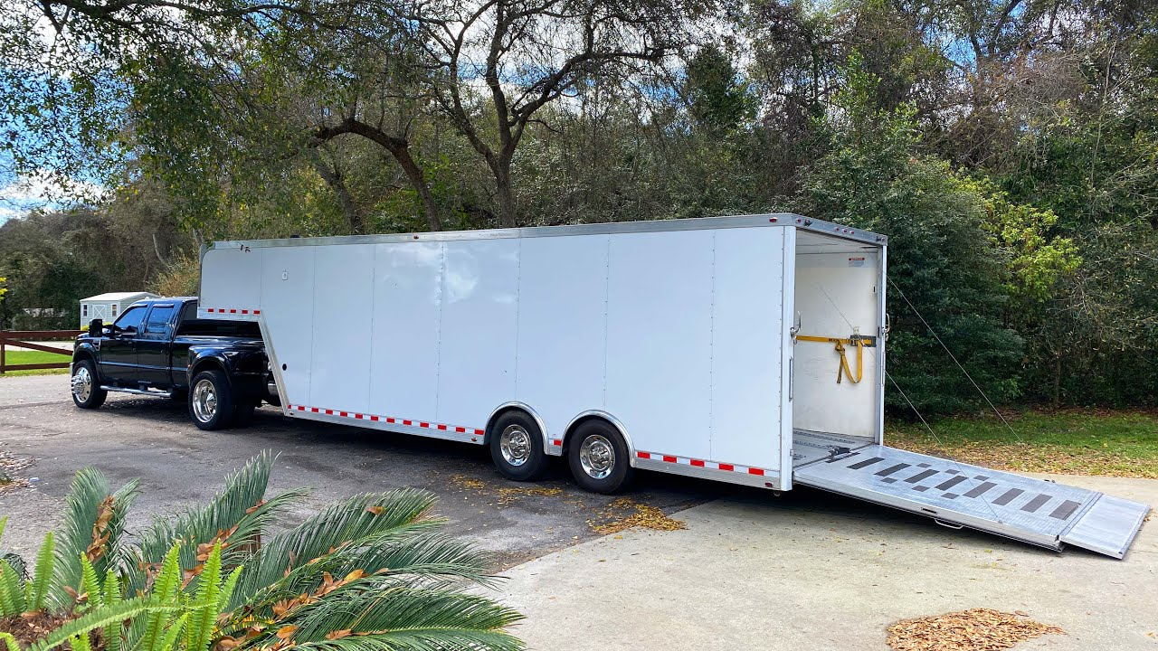 I finally found and bought my dream enclosed gooseneck race trailer.