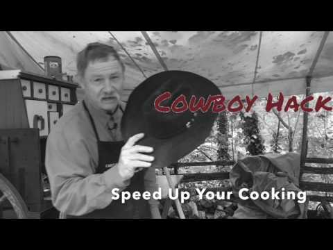 Cowboy Hack: Speed Up Dutch Oven Cooking Time