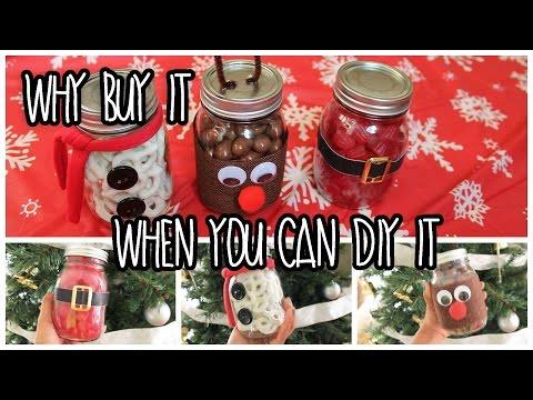 DIY: Inexpensive Gift Idea Using Mason Jar - Homemade Christmas ...
