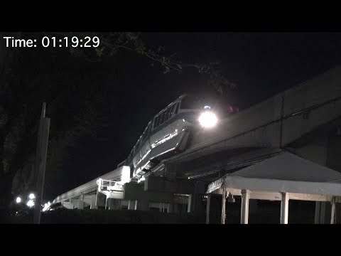 Disney: Monorail System Shutdown at the Magic Kingdom and Storage Shed