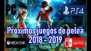 Descargar Proximos Juegos De Pelea Pc Ps4 Xbox One Y Switch 2018