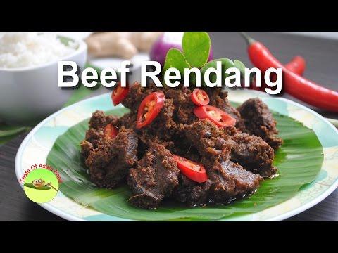 Beef rendang recipe Indonesia