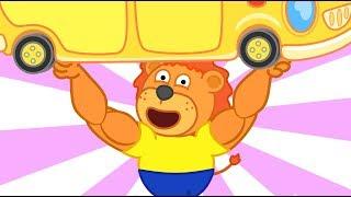 Lion Family Power Elixir Cartoon for Kids