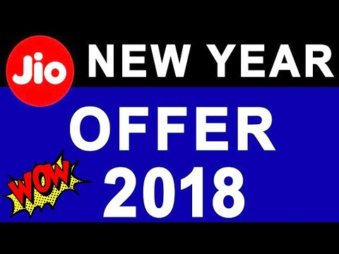 Reliance Jio Happy New Year 2018 latest OFFER | 50% More Data less Price | TechnoBaaz