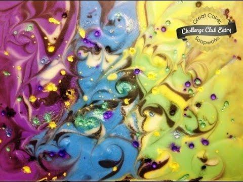 Ebru Art Soap for Amy Warden Challenge June 2015