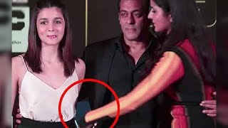Salman Khan YELLS At Katrina Kaif In Front Of Alia Bhatt | IIFA 2017