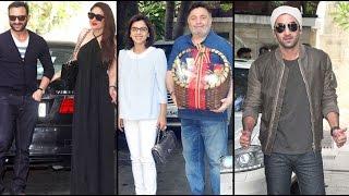 Kareena Kapoor, Ranbir Kapoor, Karisma Kapoor Seen At Shashi Kapoor