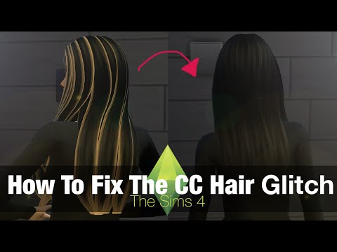 The Sims 4 Tutorial: How to Fix Custom Content Hair Glitch