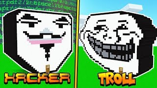 CAN A HACKER SURVIVE A TROLL IN MINECRAFT?